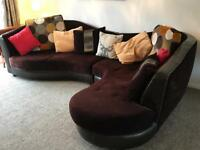L Shaped Sofa :: Immaculate Condition :: RRP £2500