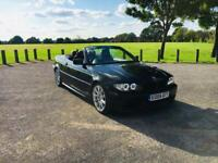 ***Further Reduced*** 2005 BMW 330Ci M Sport Automatic Convertible Red Leather TV Sat Nav