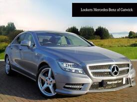Mercedes-Benz CLS CLS350 CDI BLUEEFFICIENCY AMG SPORT (silver) 2014-09-01