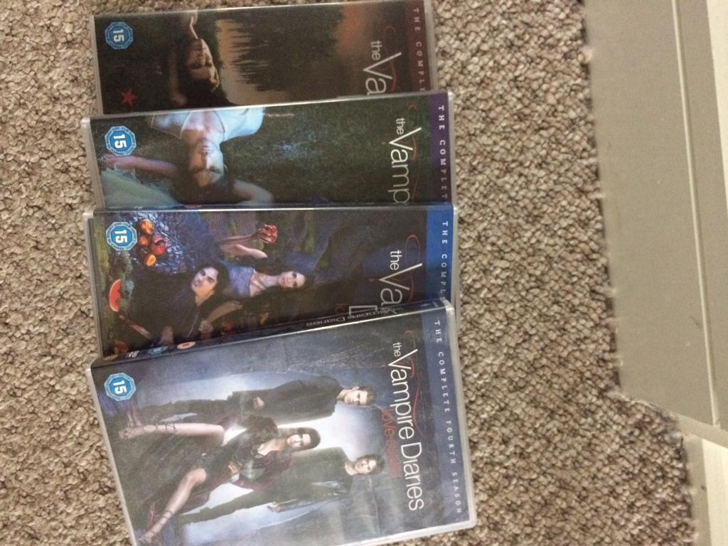 Vampire diaries season 1,2,3&4 reduced price
