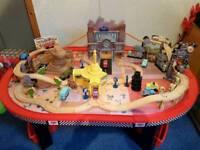 Disney Pixar Cars Radiator Springs Table