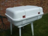 Roof Box, Fiamma Ultra Box 2 used for Motorhome, caravan, campervan new price on ebay £360