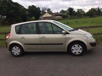2006 Renault Scenic 1,6 litre 5dr 2 owners