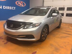 2014 Honda Civic EX NEW TIRES/ POWER SUNROOF/ ALLOYS/ BLUETOO...