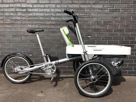 "Taga 2.0 Family, Cargo Bike 20"" - never used"
