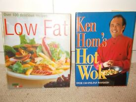 Job lot/bundle of 10 cookery books