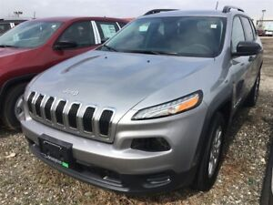 2017 Jeep Cherokee SPORT 4X4 | USED DEMO | SPECIAL CLEARANCE |