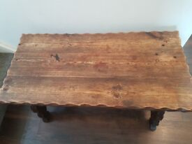Unique Solid Wooden Coffee Table £20