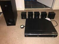 Lg blue ray 3D 1000w dvd player