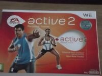 Nintendo Wii Active 2 Personal Trainer