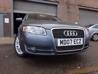 07 AUDI A4 AVANT SE (140)TDI DIESEL 2.0 ESTATE,MOT FEB 017,2 KEYS,FULL HISTORY,3 OWNERS,LOVELY CAR