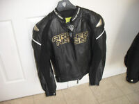 MOTORCYCLE LEATHERS - JACKET AND TROUSERS