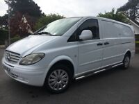Mercedes Vito 2.2 115 CDI XLONG, 12 Month MOT, F/S/H, Immaculate Condition, NO VAT