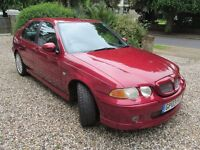 MG ZS 180 2.5 V6 5dr 2003 - stunning car, MOT Oct, full service history, cambelts done, 72k miles