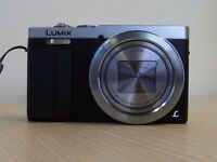 Panasonic Lumix TZ70 - 30x Zoom, silver, Excellent condition