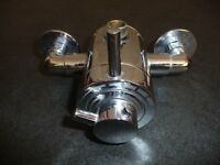 Alterna exposed shower mixer valve