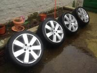"Ford Focus 17"" MP3 Alloy Wheels"