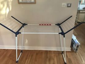 leifheit clothes horse airer dryer stand collapsible