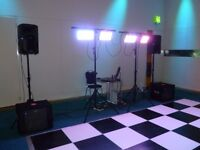 LEDJ Stratos Wash DMX Strobe panel LED lights