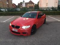 2008 BMW 330D M Sport E93 Red Convertible Amazing Spec Low Miles