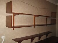 Solid Wood Book shelves - Great storage for office or home!!