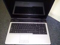 """Toshiba Equium 17"""" Laptop"""