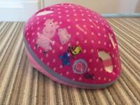 Peppa pig extra small bike helmet