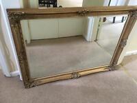 Gold Guilt Mirror