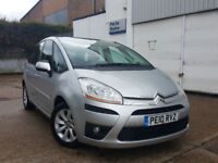 automatic citroen picasso 2010 1.6 hdi diesel . low mileage. excellent condition. superb drive.
