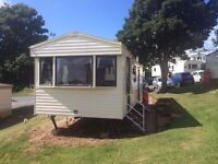 **CARAVAN TO LET AT DEVON CLIFFS SANDY BAY 28th of may £300 cancellation **