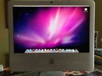 "Apple iMac 20"" 2Ghz"