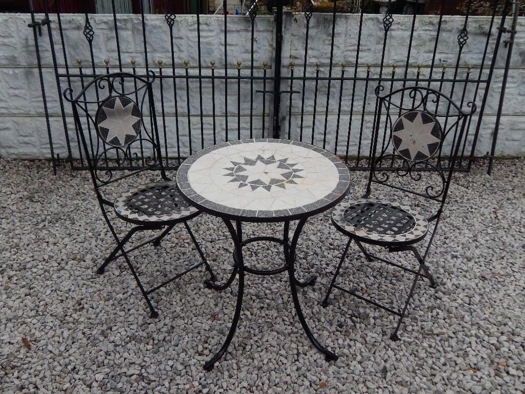 Garden furniture outdoor furniture vintage garden salvage wrought iron bistro set patio set