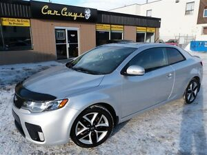 2011 Kia Forte Koup 2.4L SX Luxury - Navi, Leather Heated Seats,