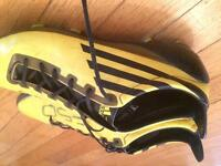 Size 8.5 REAL Adidas F50's