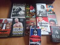 Autobiography and biography book job lot