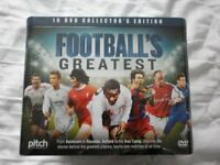 Football's Greatest DVD Collector's Edition Box set