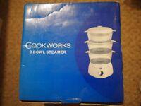 Cookworks steamer for sale