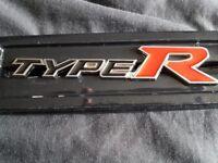Honda Civic Type R Car Embelm