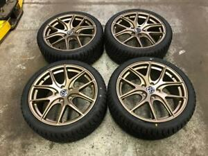 "18"" Avante Garde Style Volkswagen Wheels & 225/40R18 Winter Tires"