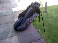 Nike golf bag with pop out stand ozzi carry strap