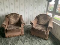 Used armchairs. Free.