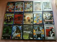 PS2 games £1 each