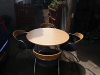 Table and chairs - modern - complete set