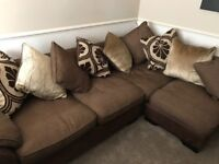 Brown New Martinez Corner Sofa
