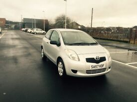toyota yaris 1.0 vvt only done 44000