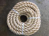 32mm synthetic decking rope x 10 metres. Garden rope, diy Rope, decking, garden, brand new