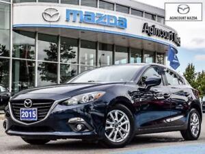 2015 Mazda Mazda3 Sport GS-Sunroof, Heated Seats, Bluetooth, Bac