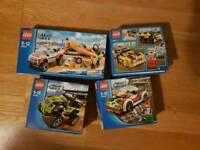 4x Lego City Sets