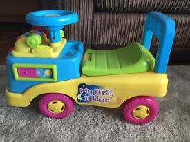 My First Ride On - Age 12 months plus