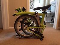 Brompton S2L 2016 Folding Bike FOR SALE £750